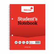 Silvine Student's Notebook 120 pages